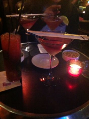 Lychee martinis & more at Mabillon on a Friday night...